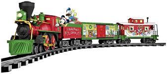 amazon com lionel mickey mouse disney ready to play train set