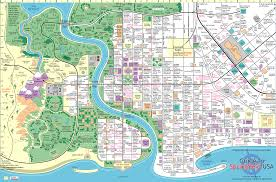 Judgemental Los Angeles Map by Springfield Map The Simpsons Pinterest