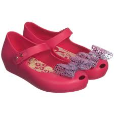 melissa pink disney u0027minnie mouse u0027 jelly shoes childrensalon