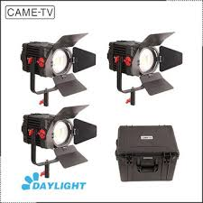 xiamen shooting equipment 3 pcs came tv boltzen 150w fresnel