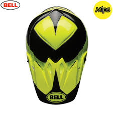 bell motocross helmets uk bell mx 9 mips helmet stryker hi viz green