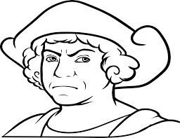 christopher columbus coloring page columbus day coloring pages