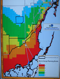 Miami Dade College Map new maps aim to raise awareness of storm surge danger wlrn