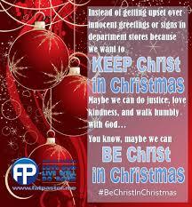 War On Christmas Meme - keep christ in christmas the fat pastor