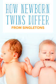 how caring for newborn twins is different from singletons