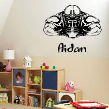 compare prices on boys baseball wall mural online shopping buy wall decals personilized name boy room baseball vinyl sticker mural decor china mainland