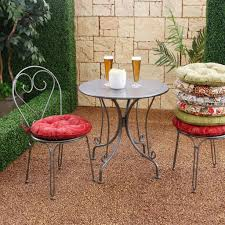 Outdoor Bistro Chair Cushions Outdoor Bistro Cushions Bistrodre Porch And Landscape Ideas