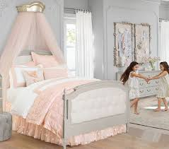 Tufted Bed Frame Blythe Tufted Bed Pottery Barn