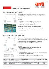 International Code Flags Awe032 Backstroke Poles And Flag Set Anti Wave International Pty Ltd