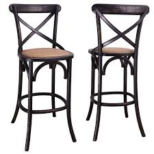 X Back Bistro Chair Wonderful Creative Of Cross Back Bistro Chair With Antique Wood Pu