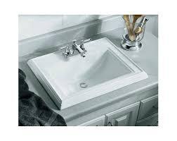 Kohler Stately Pedestal Sink Kohler Memoirs White Drop In Rectangular Bathroom Sink Best