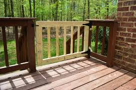 How To Make Handrails For Decks Deckgate Literally How To Make A Deck Gate Young House Love