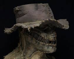 Scarecrow Mask 29 Best Scarecrows Images On Pinterest Scarecrow Mask Halloween
