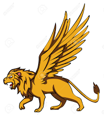 lion clipart angel pencil and in color lion clipart angel