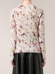equipment floral print sweater farfetch