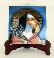 catholic gifts and more clare of assisi catholic gift idea for christian ceramic