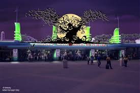 disney halloween theme background california adventure is getting in on halloween for the first time