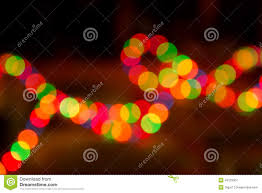Colored Christmas Lights by Colorful Lights Out Of Focus Stock Photo Image 49129367