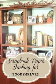 Boys Bookshelves Golden Boys And Me Bookshelves Updated With Scrapbook Paper
