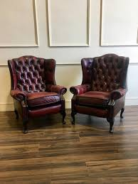 Leather Chesterfield Armchair Second Hand Chesterfield Sofas U0026 Chairs At Robinson Of England
