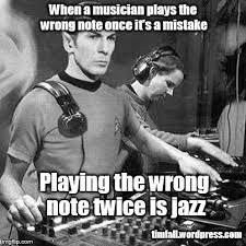 Musician Memes - jazz notes imgflip