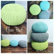 Crochet Ottoman Pattern Crochet Floor Pouf And Ottoman Free Patterns Floor Pouf Free