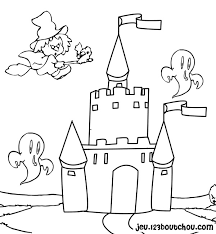 coloriage chateaux les beaux dessins de autres à imprimer et