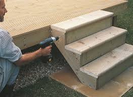 How To Make Handrails For Decks How To Add Steps And Railing To Decking Help U0026 Ideas Diy At B U0026q