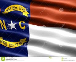 North Carolina Flag History State Flag Of North Carolina Stock Illustration Image 3449080