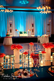 Indian Wedding Planner Ny Coral Teal And Silver Wedding With Indian Wedding Stage Low