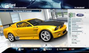 ford mustang gtr released ford mustang gt r concept v3 physics