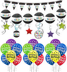 retirement balloons delivery happy retirement celebration balloon bouquet 5pc party city