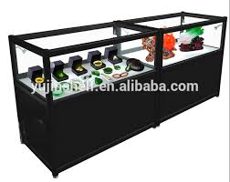 glass counter display cabinet black jewellery display cabinets for shops jewellery showroom
