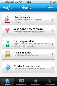 free profile finder bupa s iphone health finder app provides free health advice on the