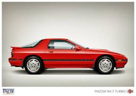 rx7 mazda rx7 turbo 1988 cartype