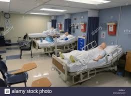 simulation room medical school hospital simulation room stock photo 53990999 alamy