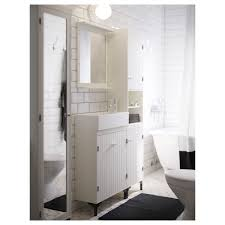 SILVERÅN Washbasin Cabinet With  Doors White Xx Cm IKEA - Bathroom basin with cabinet