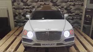 metallic pink bentley bentley bentayga elektrische kinderauto 12v 2 4g youtube