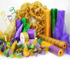 mardi gras deco mesh party ideas by mardi gras outlet memorial day wreath with deco mesh