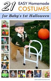 Homemade Baby Halloween Costume 21 Easy Homemade Costumes Baby U0027s Halloween Easy Diy