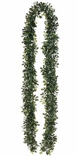 boxwood garland silk flowers afloral