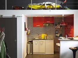 amenagement cuisine studio aménager cuisine studio sous chambre en mezzanine