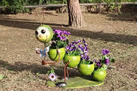 wonderland 4 step pot caterpillar planter for home garden