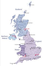 Map Of Ireland And England by Map Uk Solution Conceptdraw Com