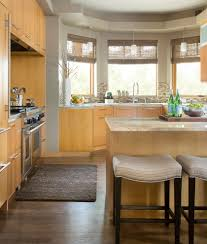 Traditional Home Great Kitchens - kitchen nice upholstered kitchen bar stools home traditional