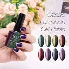 cco high gloss chrome nail polish gel high quality long lasting