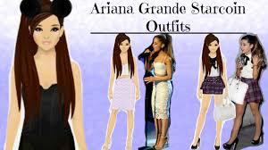 ariana grande costumes for halloween stardoll ariana grande looks in starcoins youtube