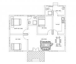 falling water floor plan house plan three bed room small house plan dwg net cad blocks and