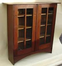 Stickley Bookcase For Sale Arts U0026 Crafts Mission Style Furniture Oak Tv Stand Audio Cabinet