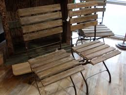 Vintage Wood Chairs 17 Metal And Wood Chair Carehouse Info